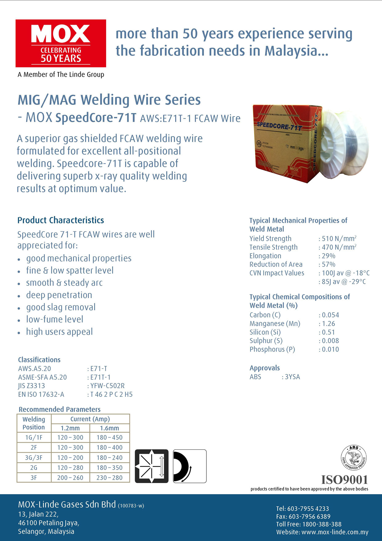 Malaysia MOX Welding Wire, Matador Welding Wire & Welding Consumable ...